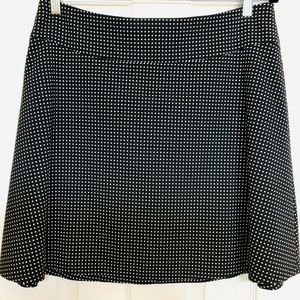 Vince Camuto Skater Black & White Skirt 12